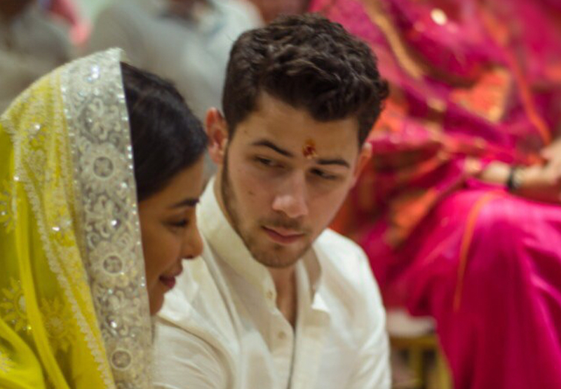 nick jonas and priya pic 1 new