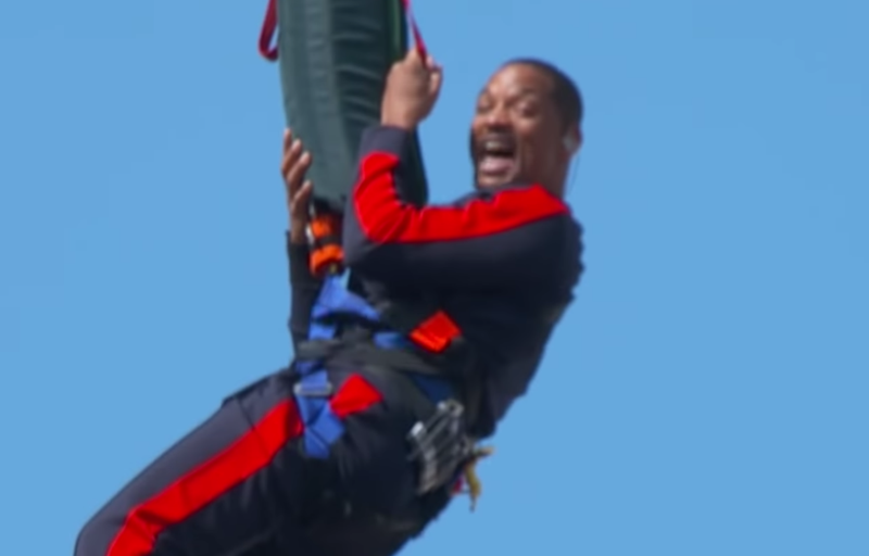 will smith bungee birthday