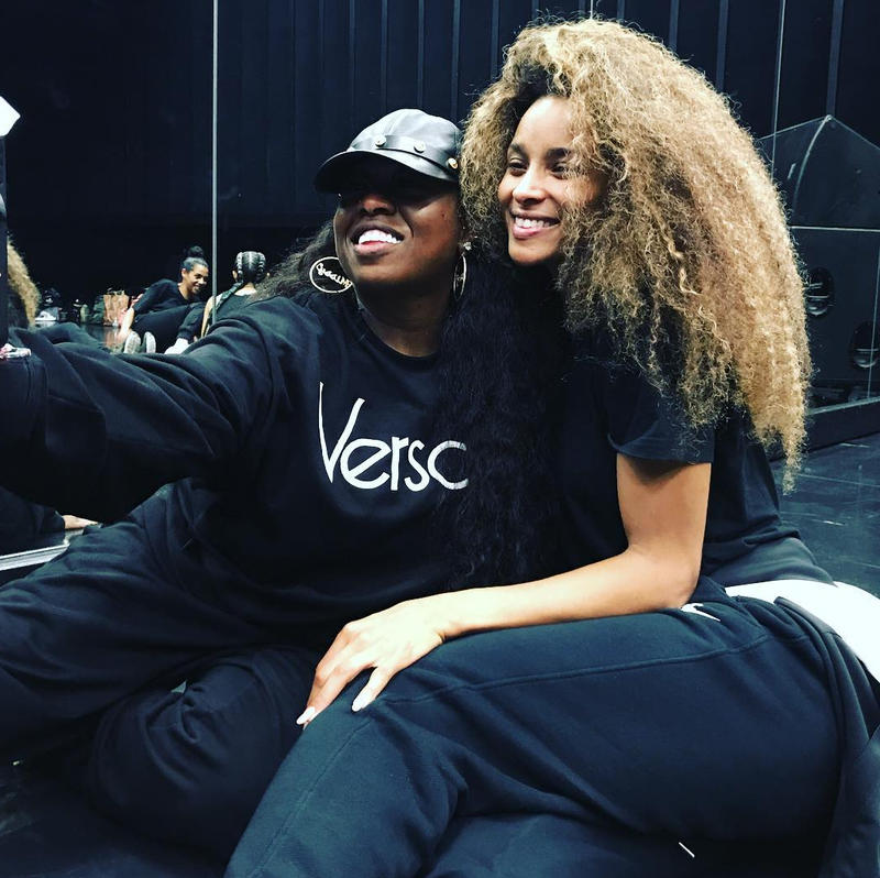 Ciara and Missy Elliot