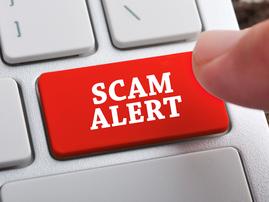 scam alert istock