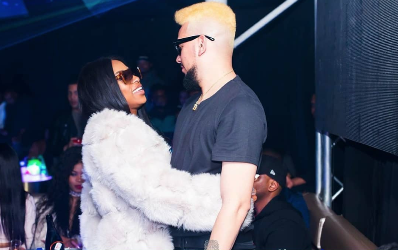 DJ Zinhle and AKA/ Instagram