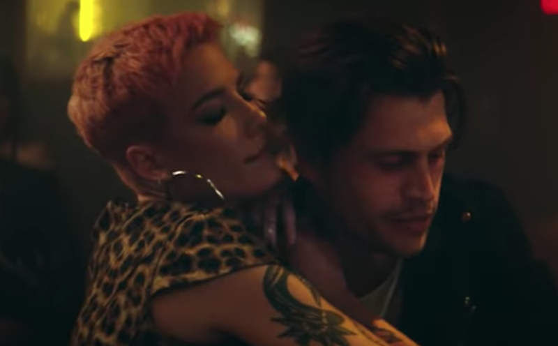 Watch: New Halsey 'Without Me' music video stars G-Eazy