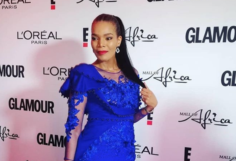 connie at glamour awards