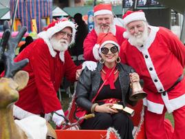 jane santa run east coast radio