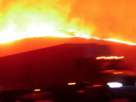 Footage of California Fire