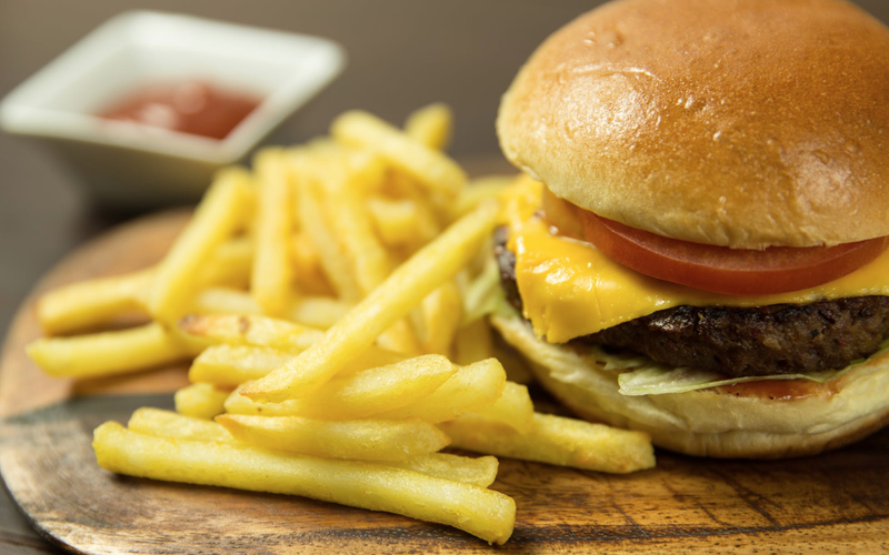 hamburger and chips pexels Foodie Factor