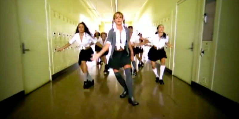 Britney Spears in Baby One More Time