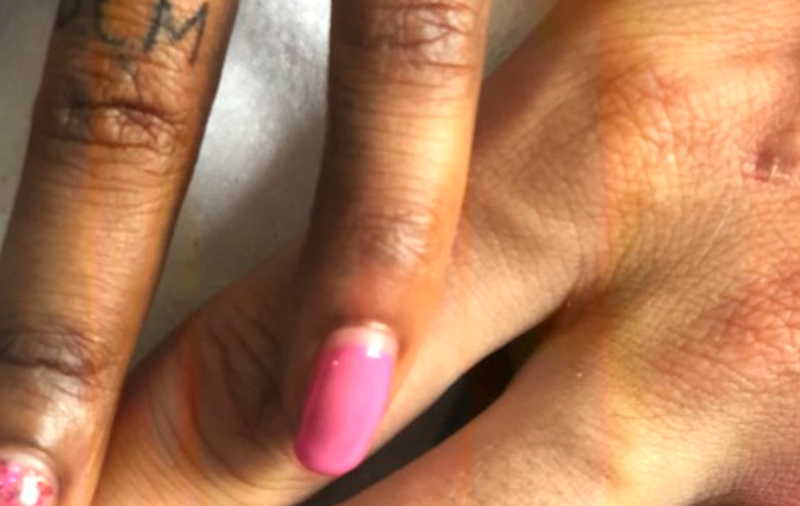 kelly khumalo ring pic tattoo