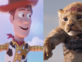 toy story 4 and the lion king