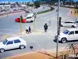 Taxi accident Durban