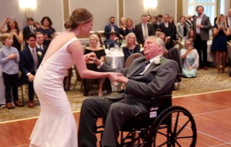 U Tube Wedding Dances.Daughter S Dance At Wedding With Terminally Ill Father Will Leave