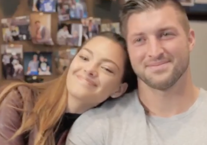 Demi Leigh and Tim Tebow / Instagram