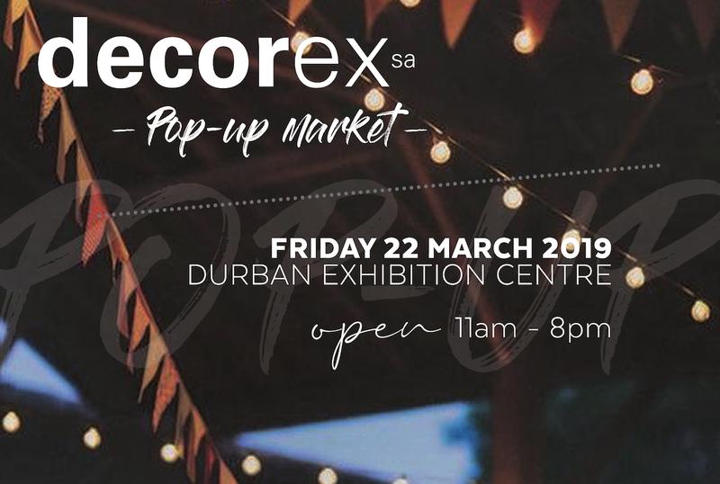 Decorex pop up market