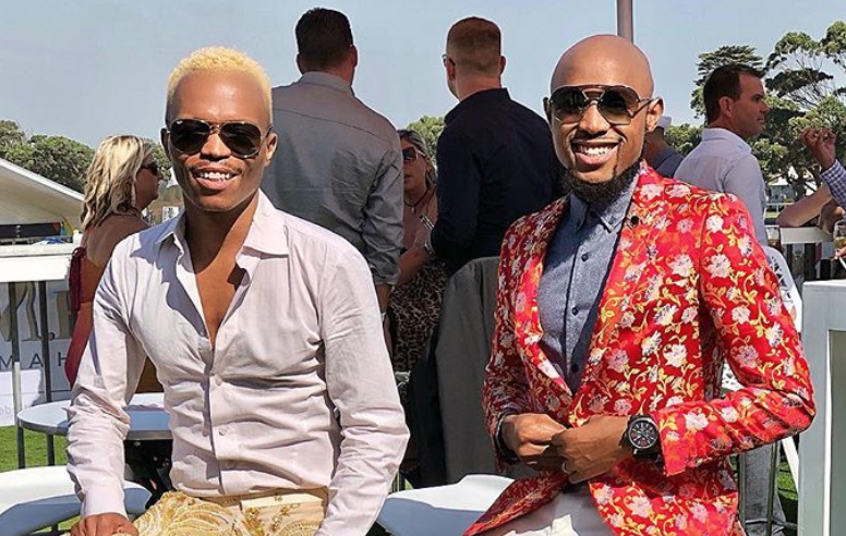 Somizi and his fiance / Instagram