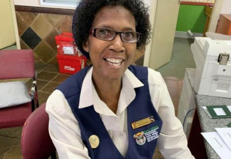 Mrs Nosipho Mkhupheka, a Home Affairs worker / Facebook
