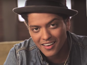 Bruno Mars in 'Just The Way You Are' / YouTube