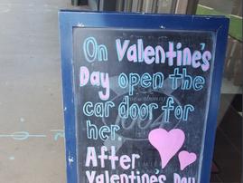 Valentine's Day Sign