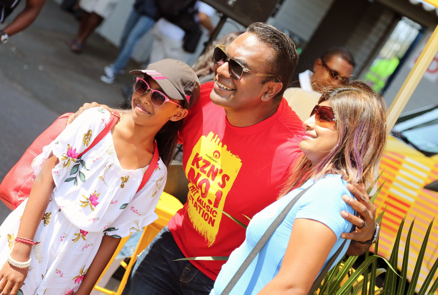 Deon Govender and fans