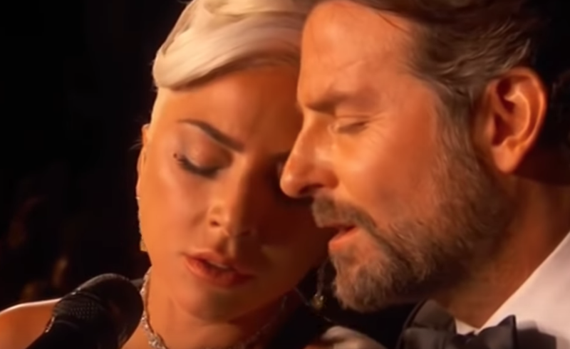 Lady Gaga performs 'Shallow' at the Oscars / YouTube