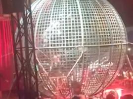 Cage of death stunt