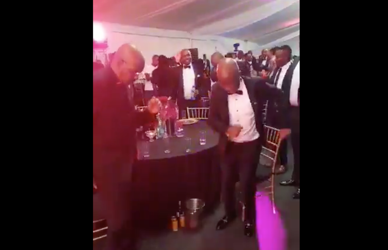 Julius Malema dances / Twitter