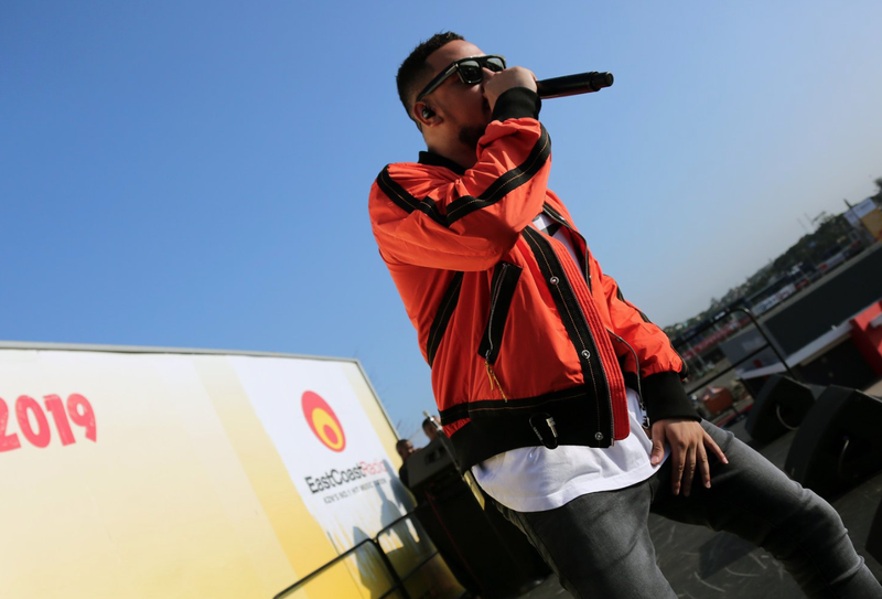 AKA performing at ECR Music Takeover / ECR