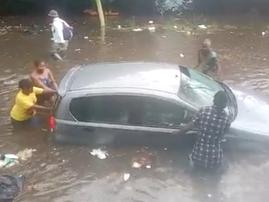 Flooding in Johannesburg