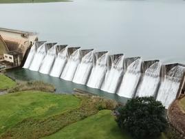 Midmar dam overflowing / Facebook - @therakeshshow