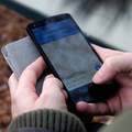 Person using Google Maps on smartphone / Pexels