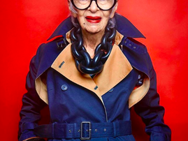 Meet the world oldest fashion icon and model