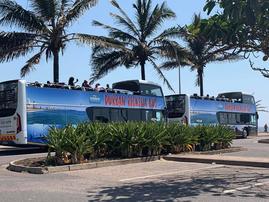 Durban Ricksha Bus / Durban Tourism Facebook Page