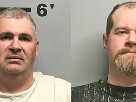 Two men arrested for allegedly taking turns to shoot each other while wearing a bulletproof vest