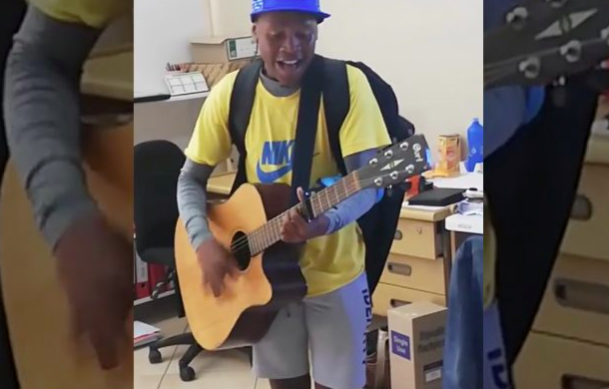 WATCH: South African student goes viral for 'majestic' voice
