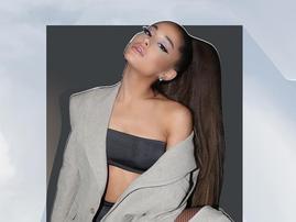 Ariana Grande posing / Instagram