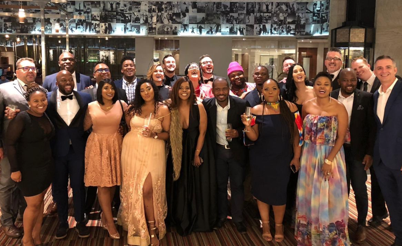 ECR team at Liberty Radio Awards 2019