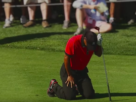 Nike releases emotional ad of Tiger Woods