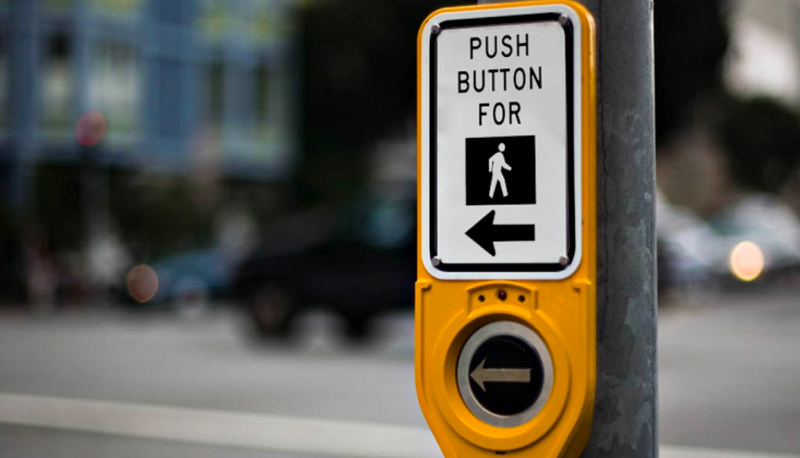 Many crosswalk buttons don't work