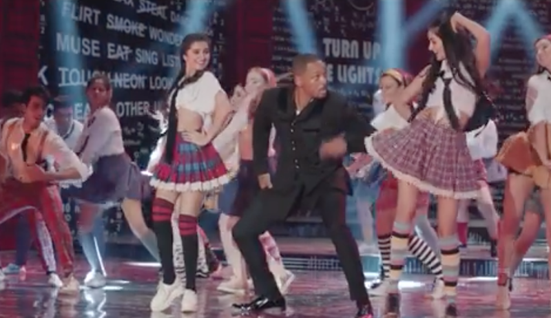 Will Smith dances to Bollywood hit / YouTube