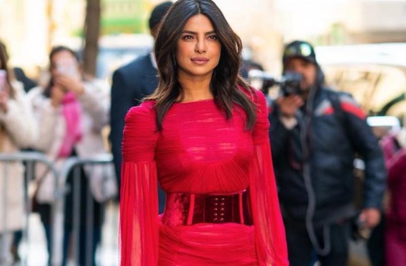 Priyanka Chopra in dress / Instagram