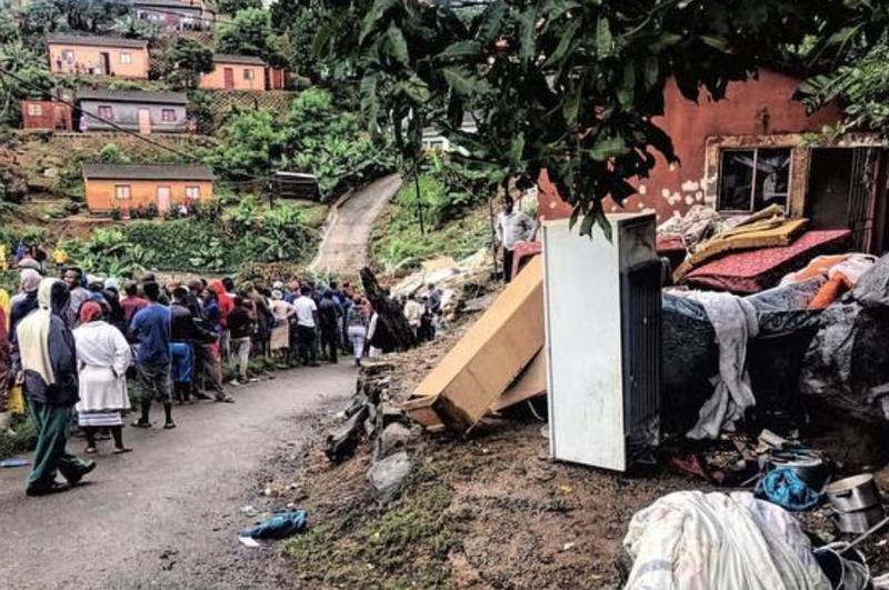 Umlazi during KZN floods / Instagram