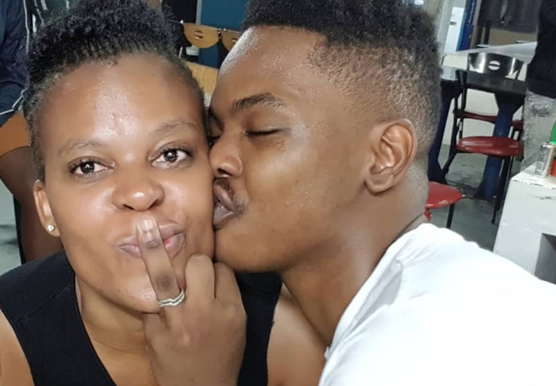 Zodwa proposes to her boyfriend / Instagram