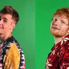 Ed Sheeran and Justin Bieber / Instagram