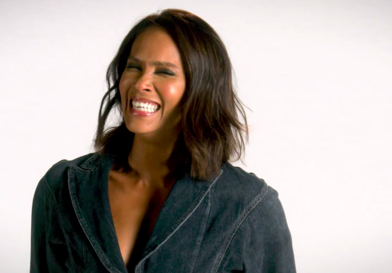 Lesley-Ann Brandt teaches 'demon language' to 'Lucifer' fans