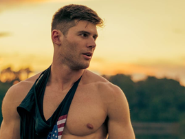 Matteo Valles in a vest / Instagram