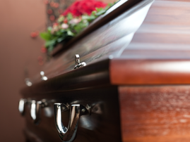Coffin in the church / iStock