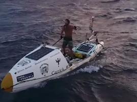 Paddleboard at sea beautiful news