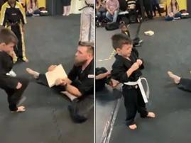 Karate kid / Facebook