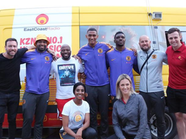 Kaizer Chiefs with East Coast Drive / ECR Drive Facebook page