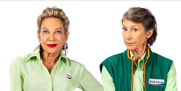 Brümilda van Rensburg en Annelisa Weiland spog met splinternuwe kykNET tv-reeks
