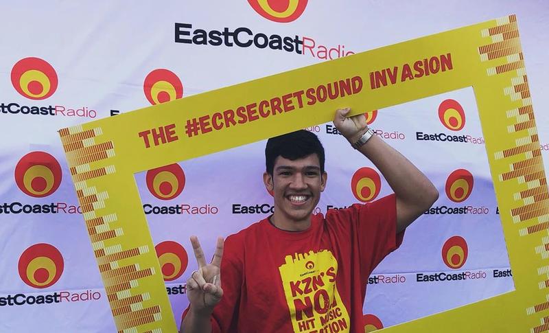 Ryan Fredericks at ECR Secret Sound Invasion / ECR Instagram